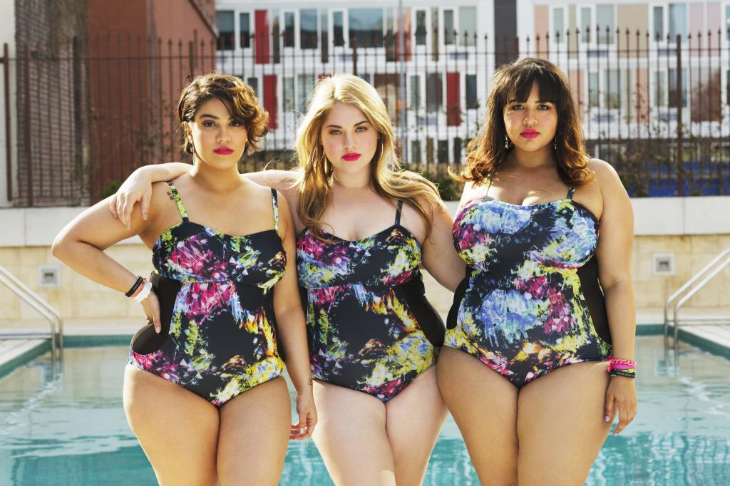 Biquinis plus size Gabi Gregg para swimsuits for all 4