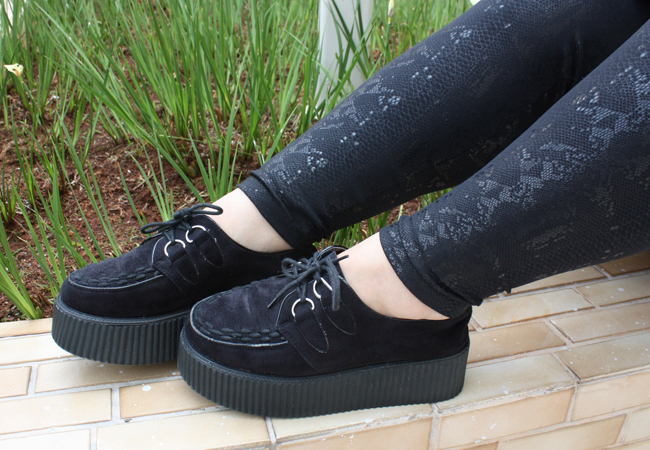 creeper e legging com textura