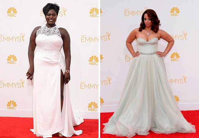 famosas-plus-size-emmy-awards-2014-danielle-brooks-Dascha-Polanco