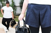 Shorts plus size, moletom e P&B