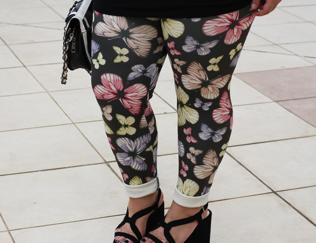 legging estampada plus size