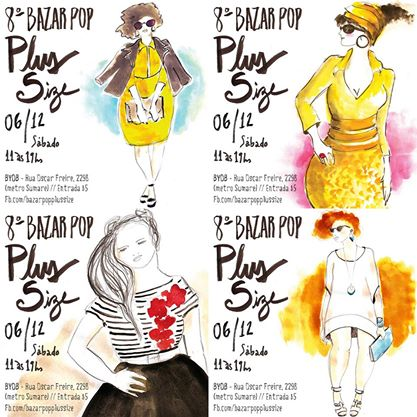 8º bazar pop plus size