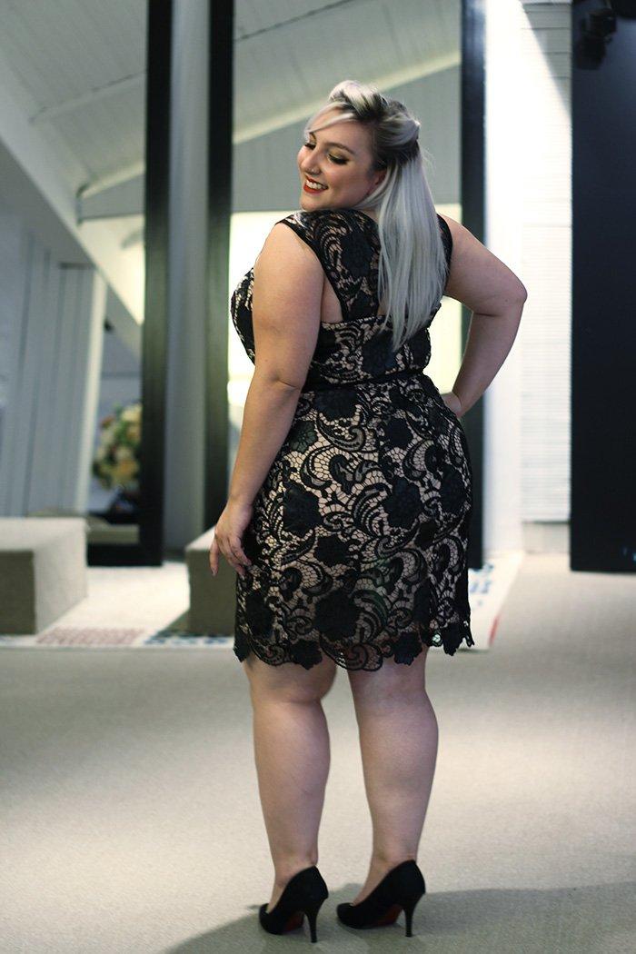 vestido de festa plus size curto 2