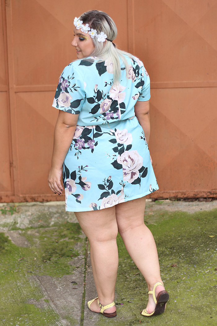 look plus size para o carnaval na kiss flower 2
