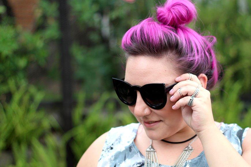 cabelo-rosa-choque-ju-romano-blogueira-plus-size