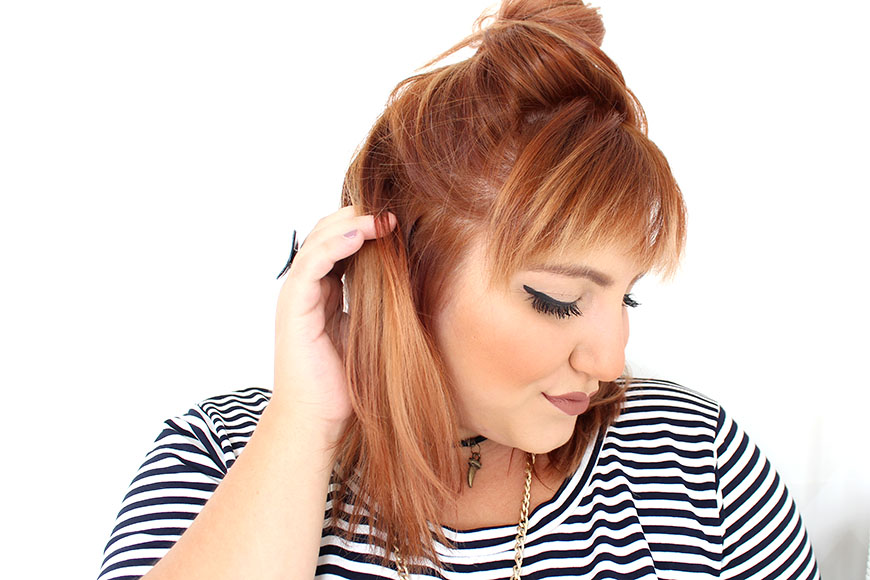 cabelo ruivo ju romano plus size listras 2
