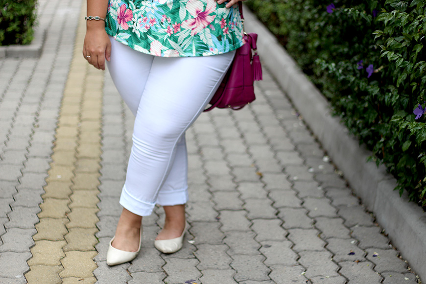 calca branca plus size ju romano looks