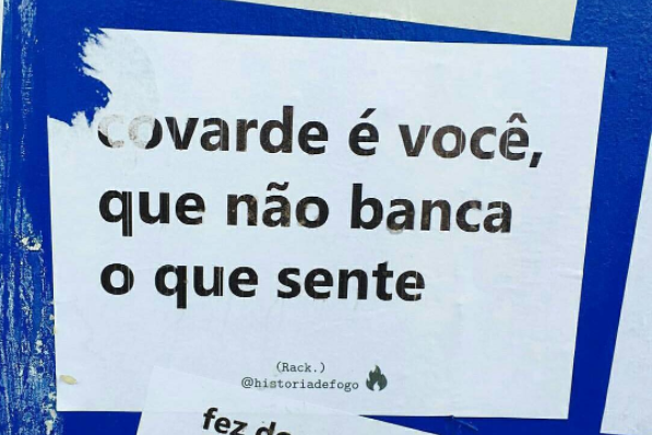 covarde eh vc