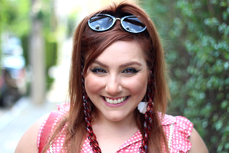 ju romano plus size model blogger